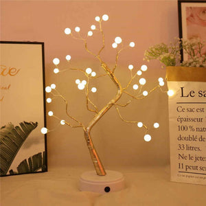 108LED Creative Decoration Night Light Led Light Touch Screen Pearl Tree Light pearl tree lights pearl tree lights