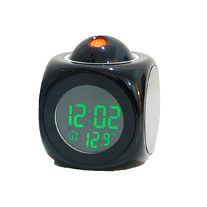 Multi-function LED Projection Alarm Clock