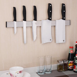Stainless Steel Magnetic Knife Storage Rack
