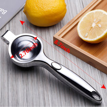 Load image into Gallery viewer, Stainless Steel Manual Fruit Squeezer