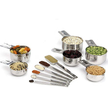 Load image into Gallery viewer, 13Pcs/Set Stainless Steel Measuring Cup Spoon