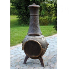 "Load image into Gallery viewer, 48"" Waterproof Chimenea Cover"
