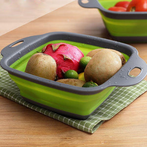 Collapsible Fruit Vegetable Basket