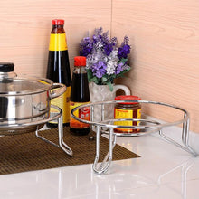 Load image into Gallery viewer, Stainless Steel Trivet Insulated Pot Rack