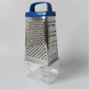Stainless Steel 4-Sided Cheese Vegetable Grater
