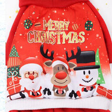 Load image into Gallery viewer, Cute Christmas Cotton Sweater Pet Dog Clothes