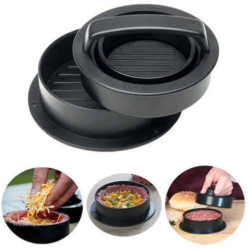 Non-stick Stuffed Burger Press Mould