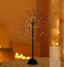 Load image into Gallery viewer, 100LED Dandelions Lamp USB Firework Starburst Light Garden Wedding Party Xmas