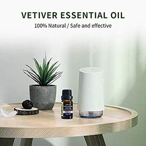 100% Pure Natural Vetiver Essential Oil (10ml/30ml)