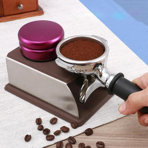 58mm Macaron Shaped Coffee Tamper