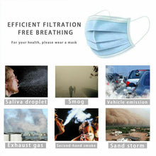 Load image into Gallery viewer, 50pcs Disposable Face Mouth M-Ask 3-Ply Loop R Espirator Dental Dustproof