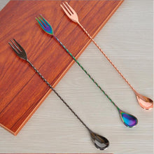 Load image into Gallery viewer, Stainless Steel Long Handle Ice Tea Spoon