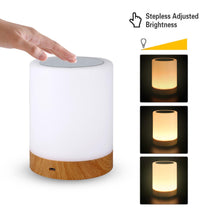 Load image into Gallery viewer, LED Touch Sensor Dimmable Table Lamp