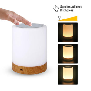 LED Touch Sensor Dimmable Table Lamp