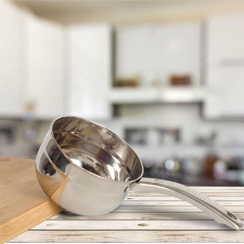 Stainless Steel Multipurpose Saucepan Water Ladle With Scale