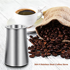 Stainless Steel Powder Catcher Chocolate Coffee Sifter
