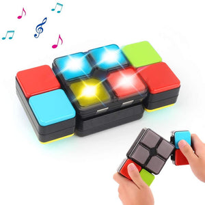 Magic Cube Electronic Music Kids Puzzle Game Novelty Toys