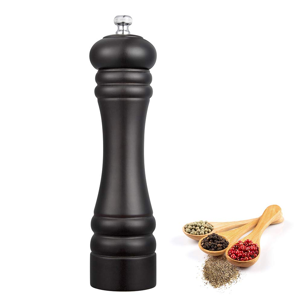 8 Inch Wood Manual Pepper Salt Mill Shaker