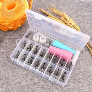32Pcs/Set Cake Piping Nozzle Decorating Tools