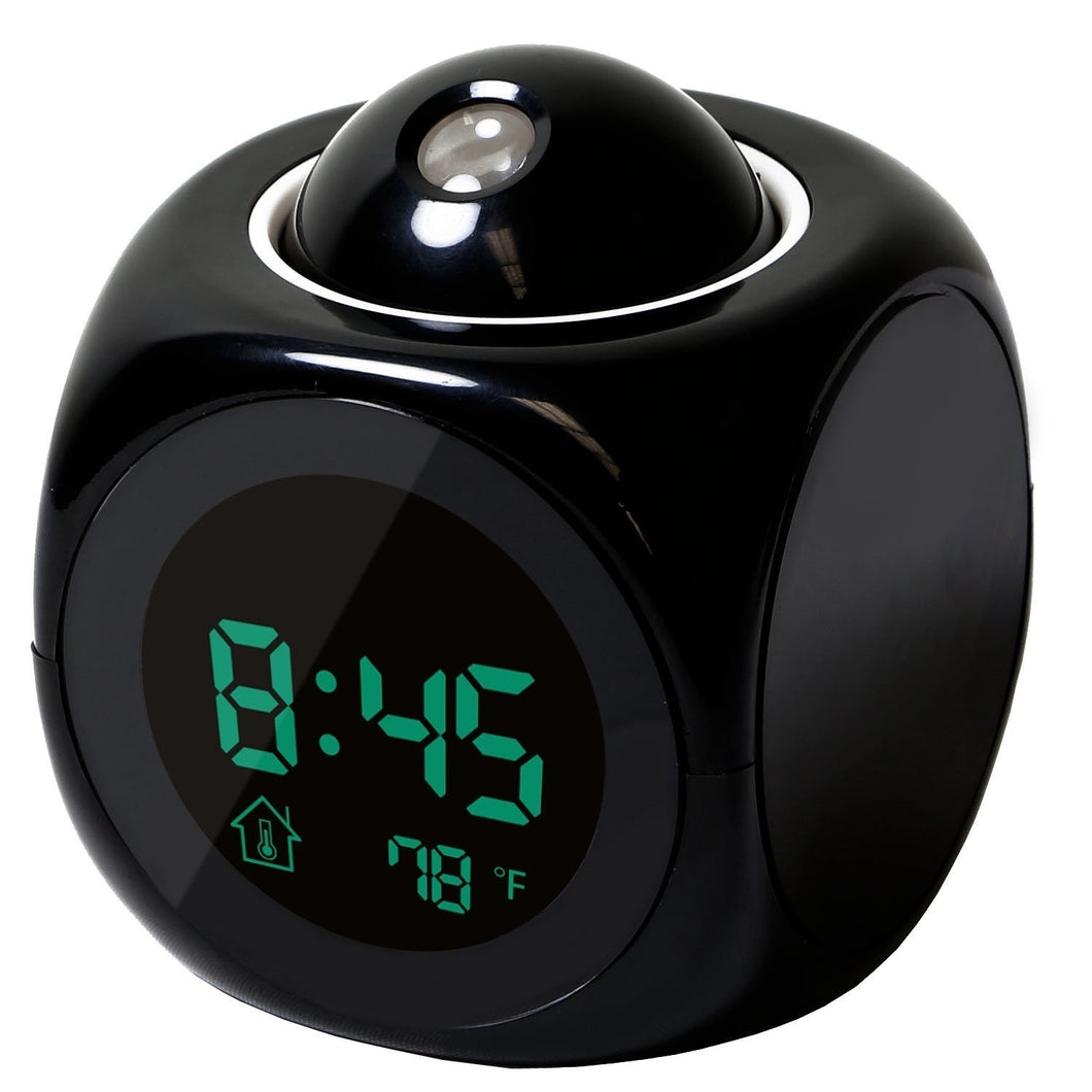 Digital LCD Display Alarm Clock