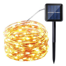 Load image into Gallery viewer, 150LEDs Waterproof Solar String Light