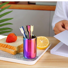 Load image into Gallery viewer, 9Pcs/Set Stainless Steel Arrow Shaped Fruit Fork