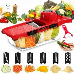 1 Set Multi-function Vegetable Slicer