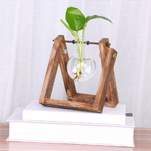 Load image into Gallery viewer, Hydroponic Plant Transparent Wooden Shelf