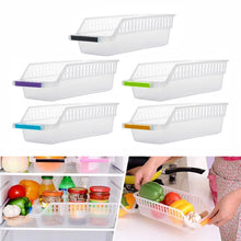 Load image into Gallery viewer, Plastic Drawer Refrigerator Storage Box