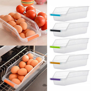 Plastic Drawer Refrigerator Storage Box
