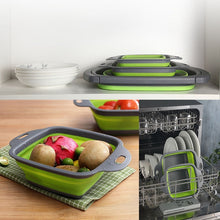 Load image into Gallery viewer, Collapsible Fruit Vegetable Basket