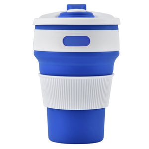 350ml Silicone Foldable Water Cup