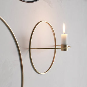 Nordic Metal Wall Candle Holder
