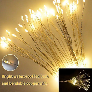 150LEDs Remote Control Starburst String Lights