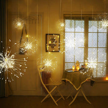 Load image into Gallery viewer, 150LEDs Remote Control Starburst String Lights