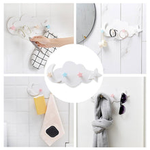 Load image into Gallery viewer, 4-Hooks ABS Wall-mounted Hanger