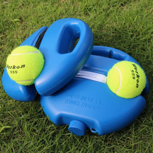 Tennis Ball Singles Training Practice  Retractable Convenient Training Tennis Tool Sport