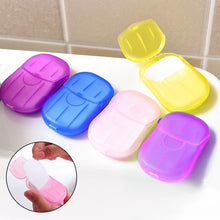 Load image into Gallery viewer, Portable Hand Wash Soap Disposable Washing Hand Bath  Paper Soap(20 pcs/box)