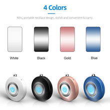 Load image into Gallery viewer, 2020 Newest Portable Air Purifier Mini USB Air Cleaner Negative Ion Generator Low Noise Wearable Air Freshener for Home Office Bedroom