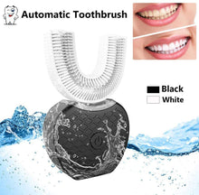 Load image into Gallery viewer, USB Charging 360 Degrees Automatic Electric Toothbrush Intelligent Automatic Sonic U Type Tooth Brush