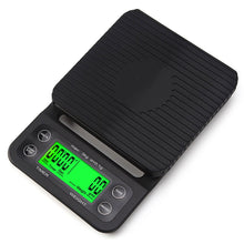 Load image into Gallery viewer, High Precision LCD Portable Electronic Scale with Timer