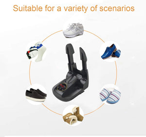 Boot Shoe Glove Dryer Electric Boots Dryer Warmer with Timer Folding Boot Heater
