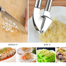 Load image into Gallery viewer, Stainless Steel Multifunction Garlic Mincer