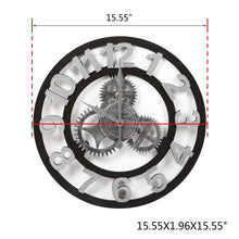 Load image into Gallery viewer, 3D European Vintage Gear Wall Clock