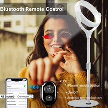 Load image into Gallery viewer, bluetooth Remote Control 8 Inch Live Beauty Fill Light Desktop Photo Anchor Fill Light Mobile Phone Bracket 20cm Live Ring Light