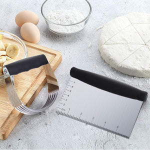 Professional Dough Cutter Pastry Brush Set