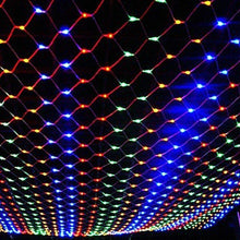 Load image into Gallery viewer, 200LED Fairy Net Mesh Curtain String Lights Xmas Wedding Party Decor Outdoor