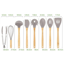 Load image into Gallery viewer, 8Pcs/Set Silicone Kitchen Utensils