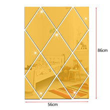 Load image into Gallery viewer, 13Pcs/Set 3D DIY Mirror Wall Stickers
