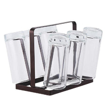 Load image into Gallery viewer, Iron Metal Upside-down Drink Cup Drain Rack